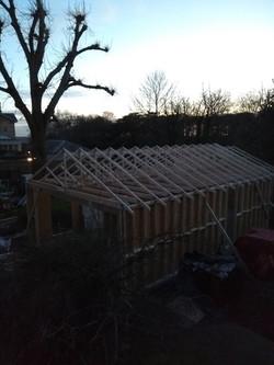 Timber frame complete