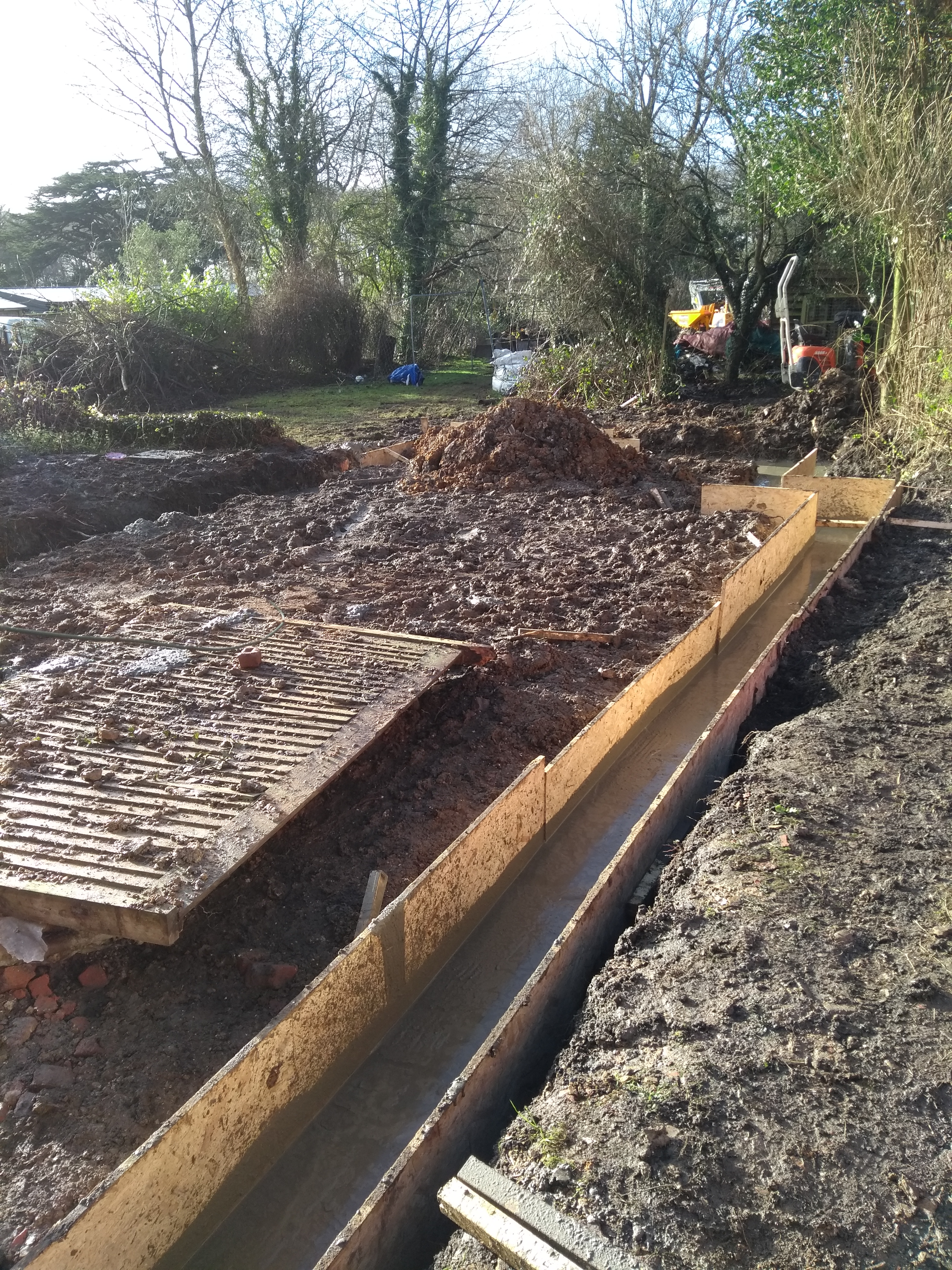 Foundations Poured