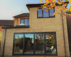 Extensions and internal alterations
