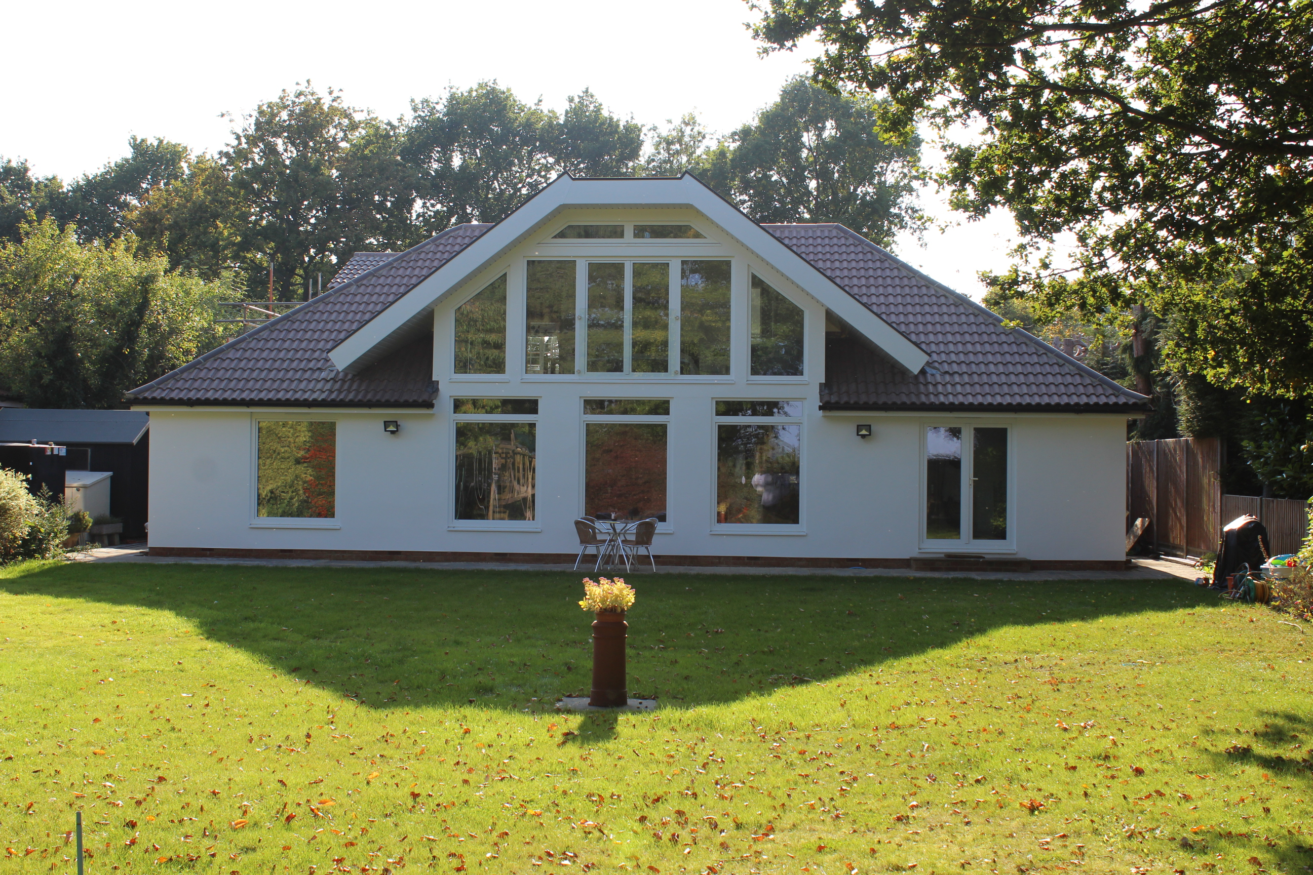 Large extension to bungalow