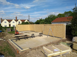 Structural Insulated Panels (SIPs) walls