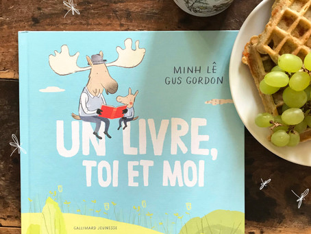 Un livre, toi et moi - Minh Lê et Gus Gordon