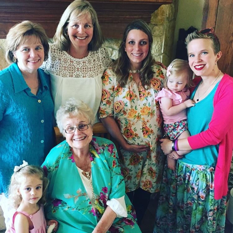 Kathy, Lynn, Erin, Addie, Katrina, Emma, Marjorie