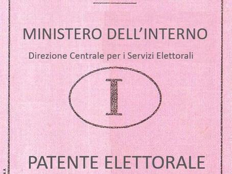 La patente elettorale