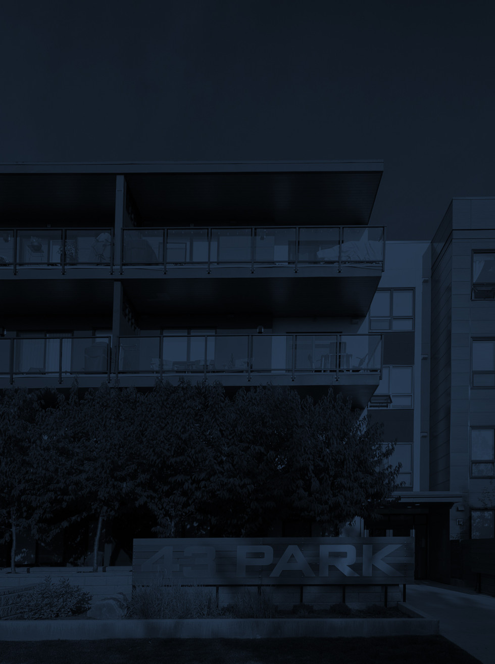 43 Park Multi-Residential - Landing Page