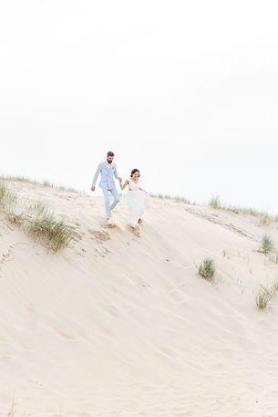 photographe mariage yvelines couple dunes