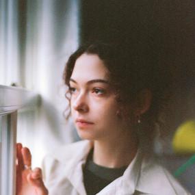 Girl by window 2