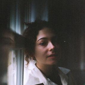 Girl by window 4