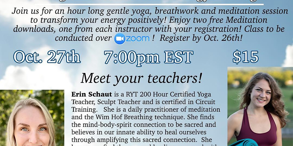 Yoga/Breathe/Healing with Erin & Michelle