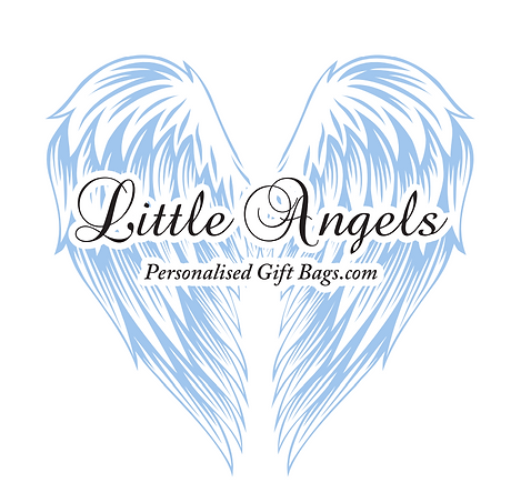 Little Angels Personalised Gift Bags Wings Giftbags Party Wedding Celebrate Gifting Gift Ideas