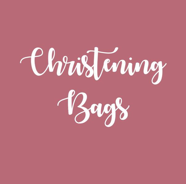 Christening Bags