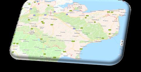 map of kent -Fixmyline.co.uk