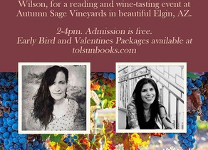 Join Us In One Week For Poetry & Wine