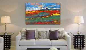 'Colour Fields' 36x48  SOLD