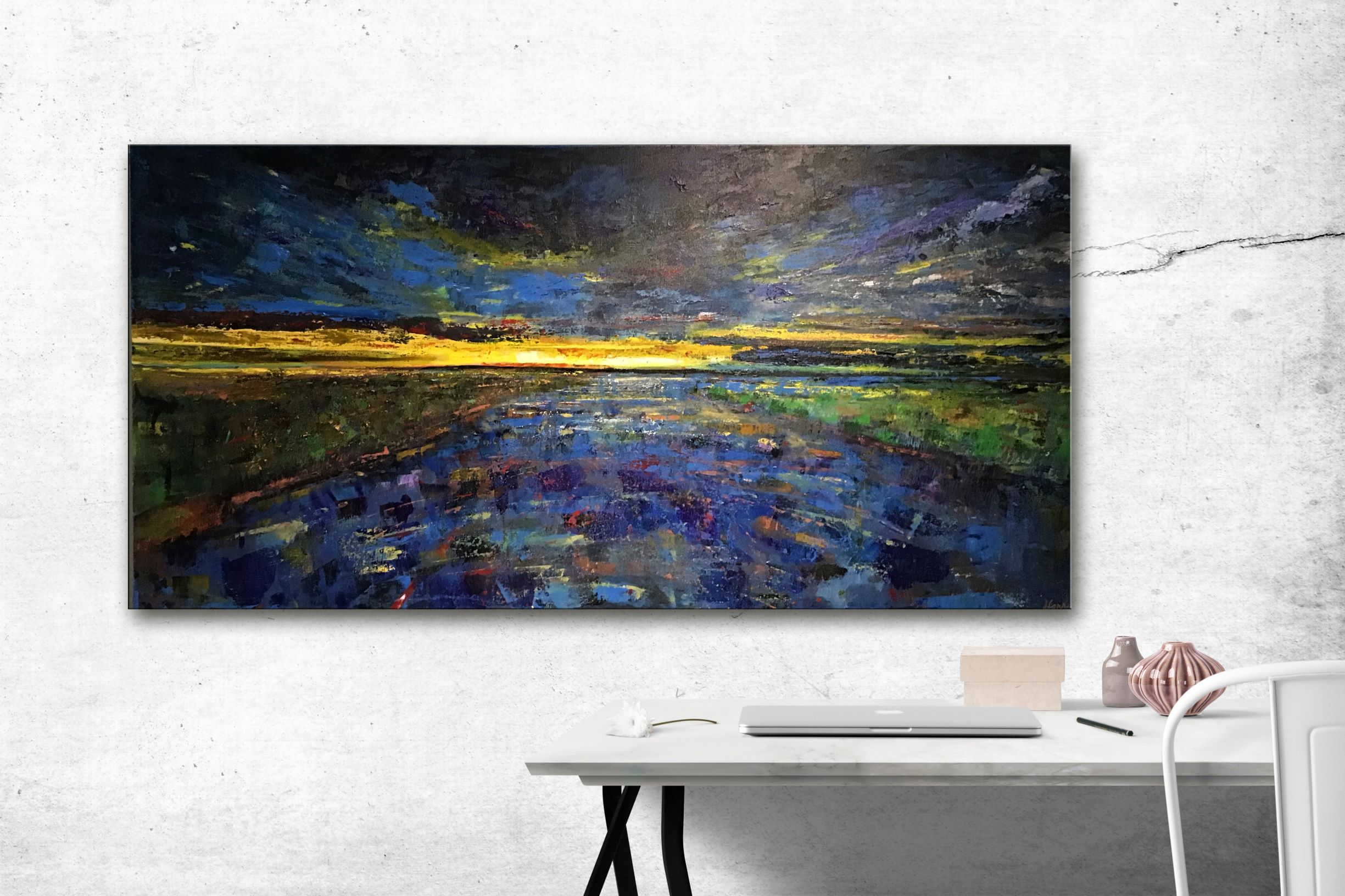 Day is Done  SOLD!  30 x 60