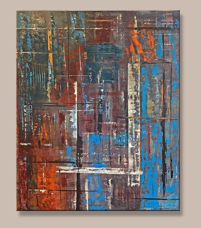 'Doorways' 48 x 60 SOLD