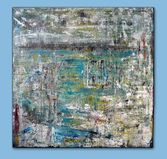 "'Isolation' 48"" x 48"" on gallery canvas $950"