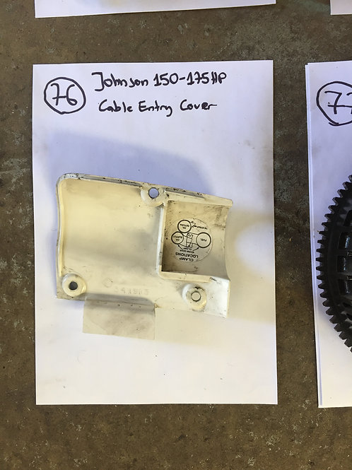 Johnson 1520-175 hp Cable Entry Cover