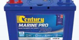 Century Marine Pro 780, Marine Battery