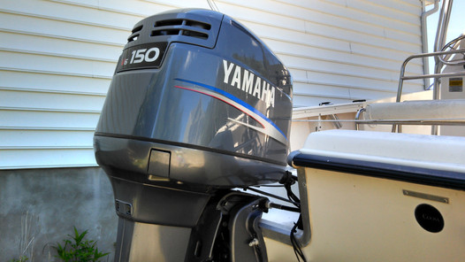 Yamaha outboard stickers