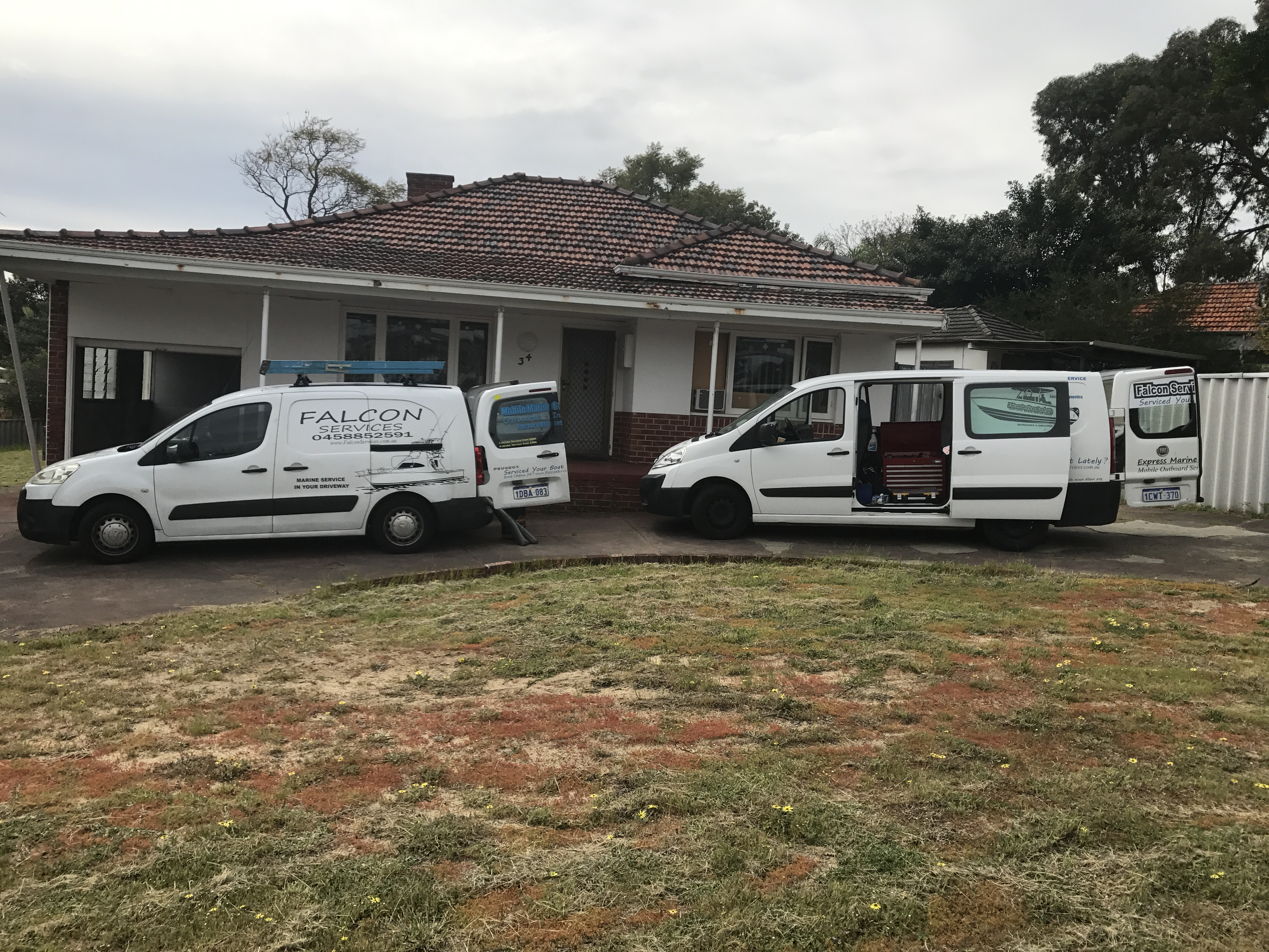 Falcon services australia perth