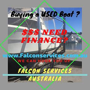 Used Boat Loan | Australia | Falcon Services Australia