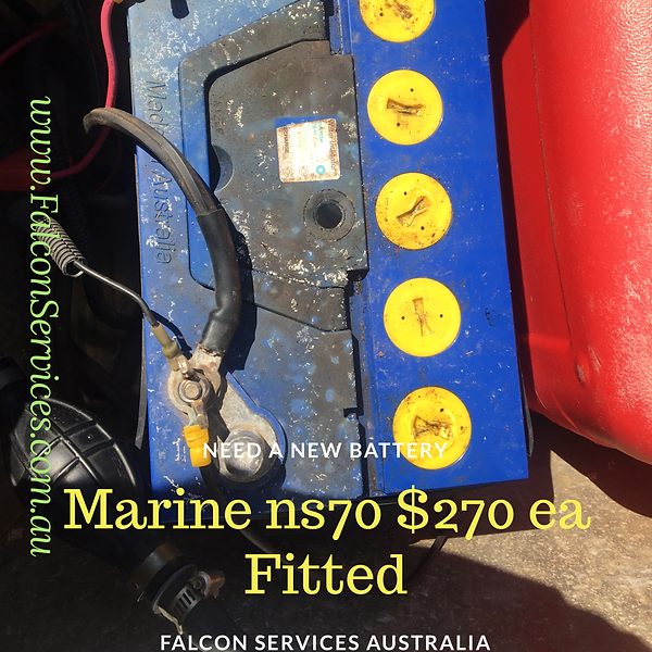 MARINE BATTERIES DELIVERED PERTH