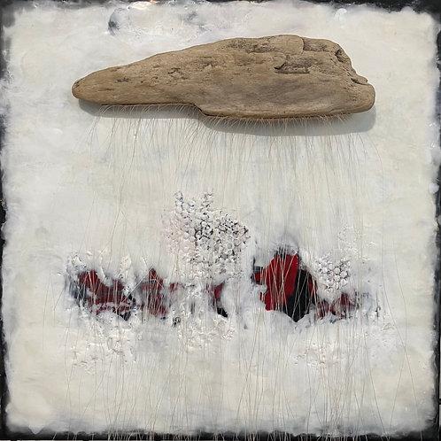 """Healing - 16"""" x 16"""", Original Art"""