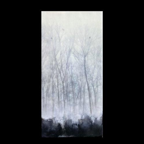 "Solitude - 6"" x 12"", Original Art"