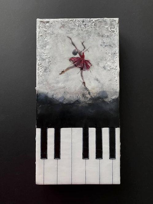 "At the Ballet - 6"" x 12"", Original Art"