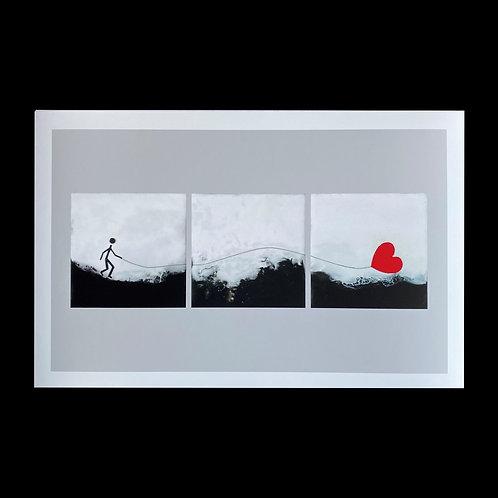 """Follow Your Heart - 11"""" X 17"""" Fine Art Print"""