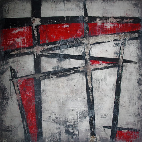 "Conduit - 40"" x 40"", Original Art"