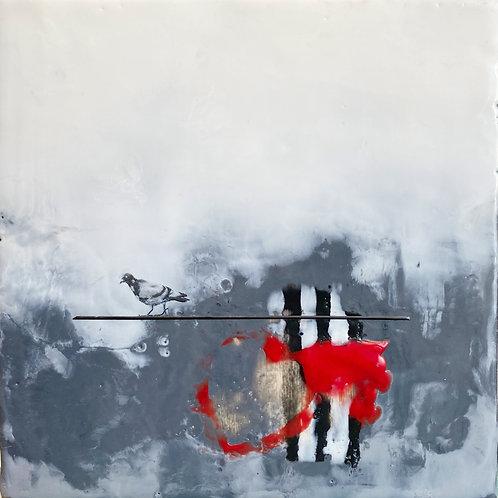 "Out On A Limb - 8"" x 8"", Original Art"