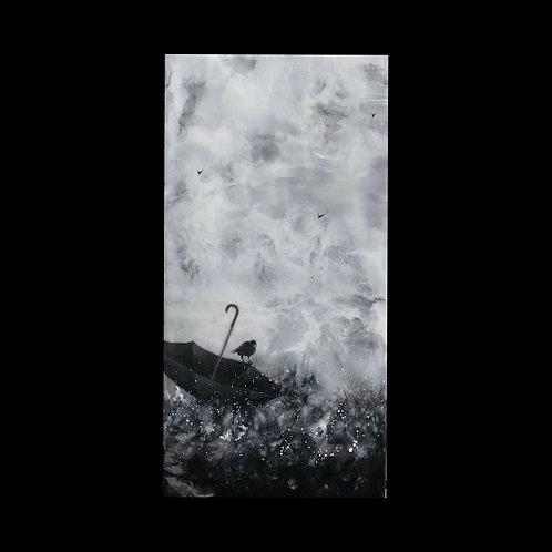 "The Voyage - 6"" x 12"", Original Art"