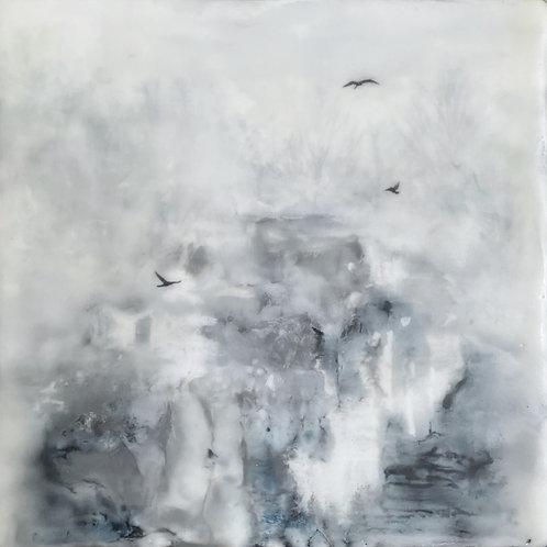 """Still Untitled - 8"""" x 8"""", Original Art"""