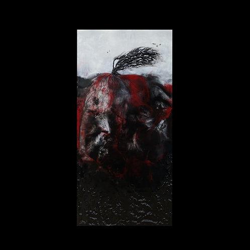 "Ravaged Elegance - 6"" x 12"", Original Art"