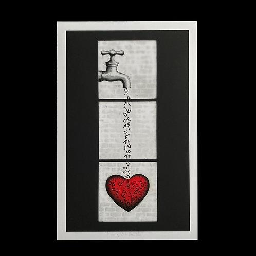 "Flowing with Gratitude - 11"" X 17"" Fine Art Print"
