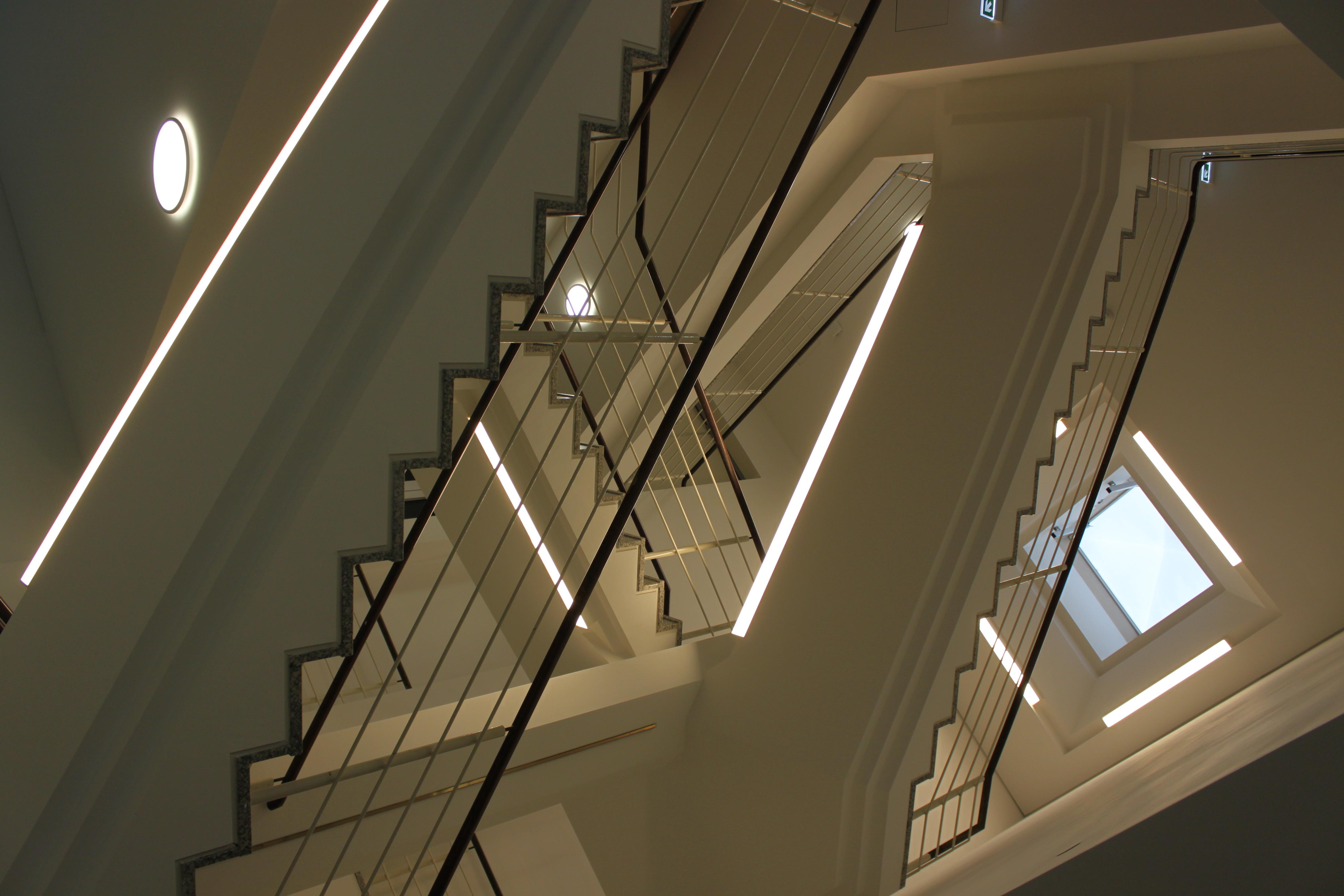 Treppenhausbeleuchtung
