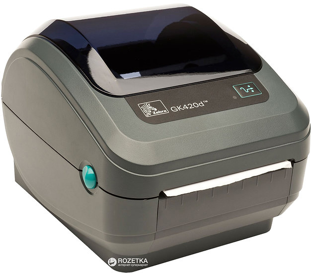 Принтер етикеток Zebra GK 420d