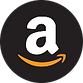 Find us in - Amazon logo - our brands pa