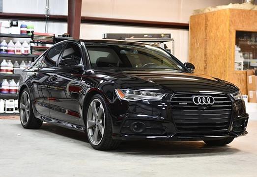 2016 Audi A6 sporting some @gtechniq_na
