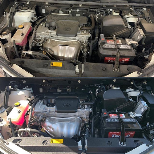 When's the last time your engine bay loo