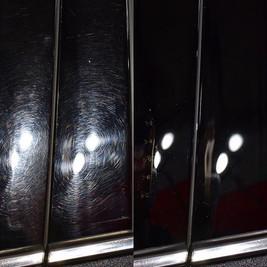 Piano black B-pillars are always fun 🧐.