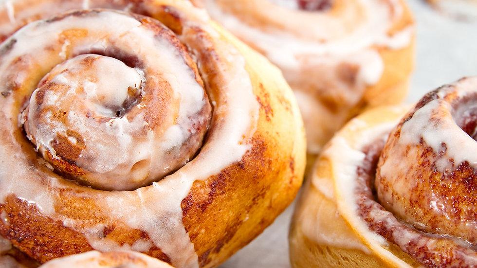 Cinnamon rolls, 4-pack