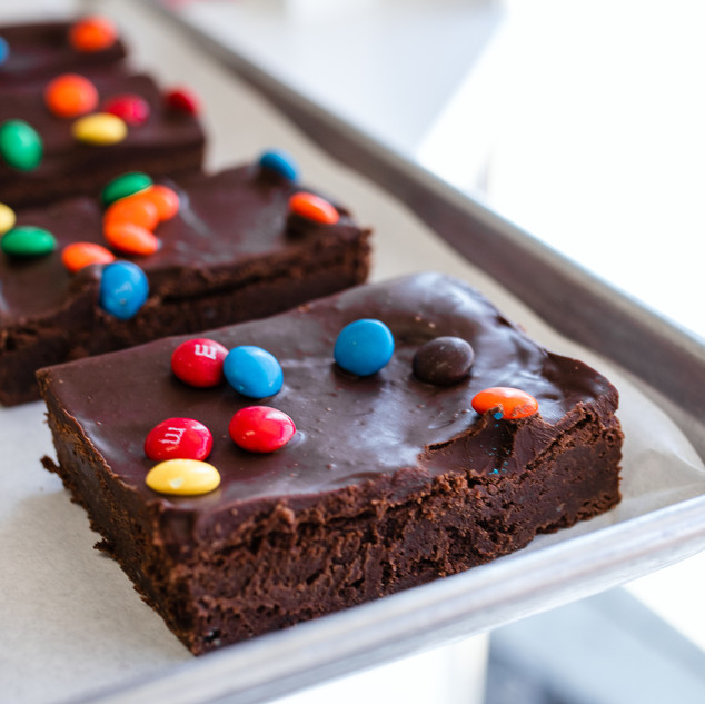 Frosted Fudge Brownie