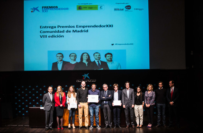FUTUREMEAL winner of the second place in the VIII Edition of the Contest EMPRENDEDOR XXI of Caixa -