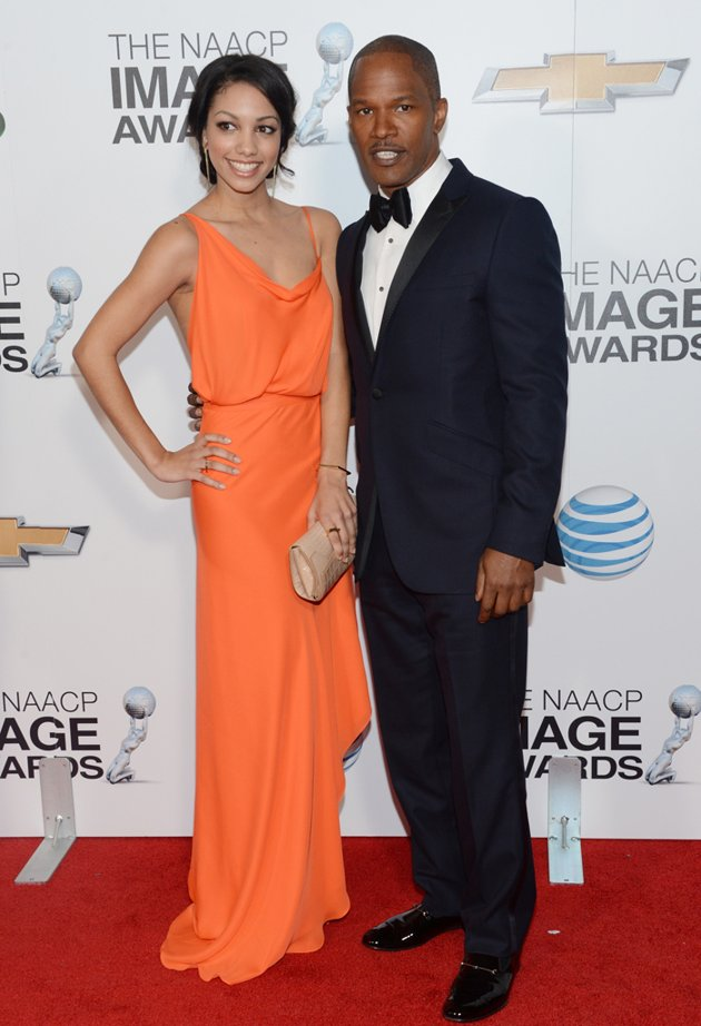 Corinne Foxx - NAACP Image Awards