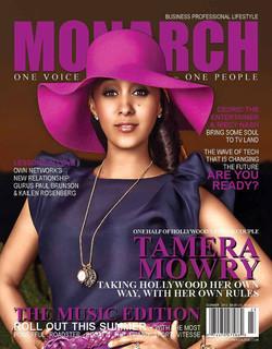 Summer Cover Monarch Magazine - YSL