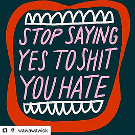 "#Repost _wawawawick_._""Stop saying yes t"