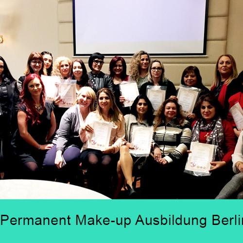 Permanent Make-up Ausbildung Berlin - Masterclass - Zertifikate